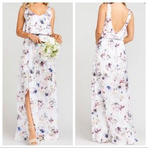 Show Me Your Mumu Bouquet Beauty Kendal Maxi Dress